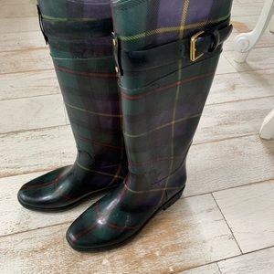 Ralph Lauren Plaid Rain boots